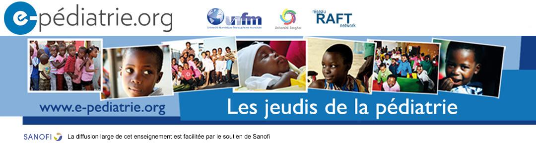 Les jeudis de la pédiatrie Logo